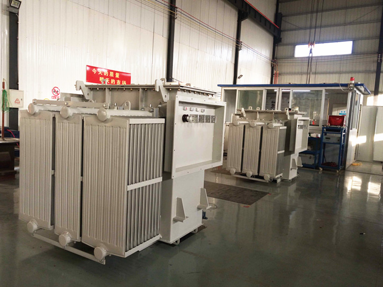 Special oil-immersed transformers exported to Chile