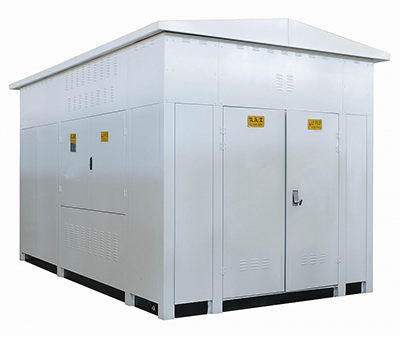 Photovoltaic step-up substation (new energy).png