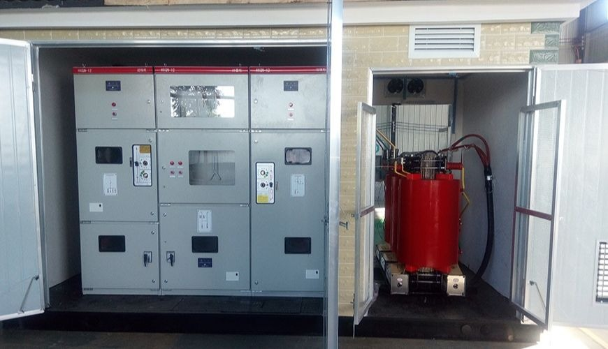 step up substation for new energy
