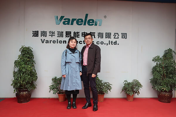 Singapore customer to visit Varelen