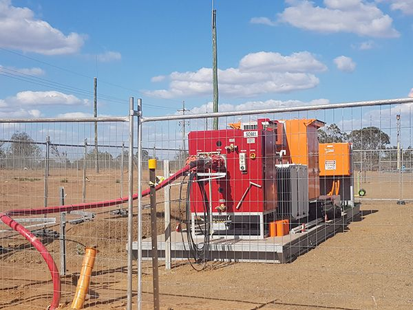 Mining substation used ONAN transformer serviced at Australia