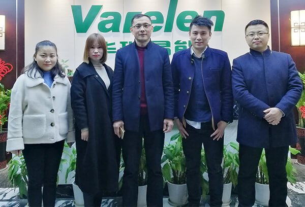 2020 New customer Visiting to Varelen