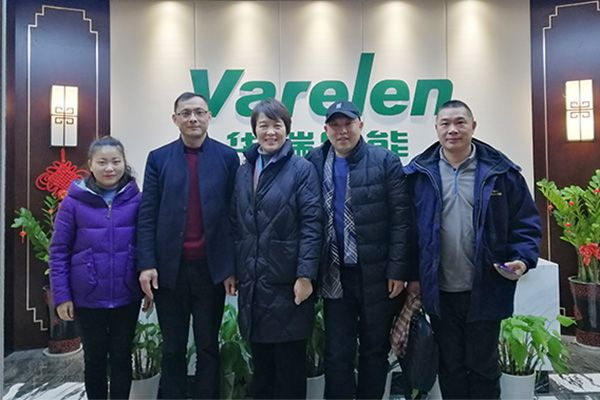 Customer Visiting to Varelen